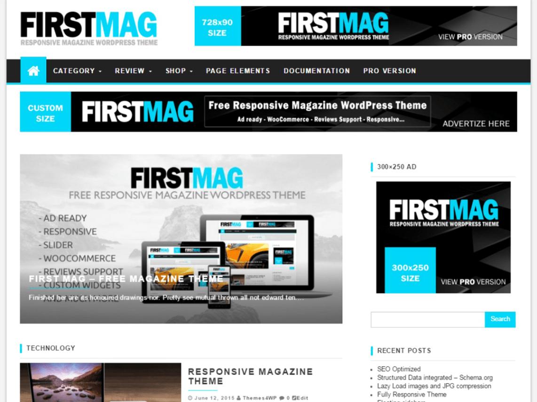 Luxury Best Free Magazine Wordpress Themes Component